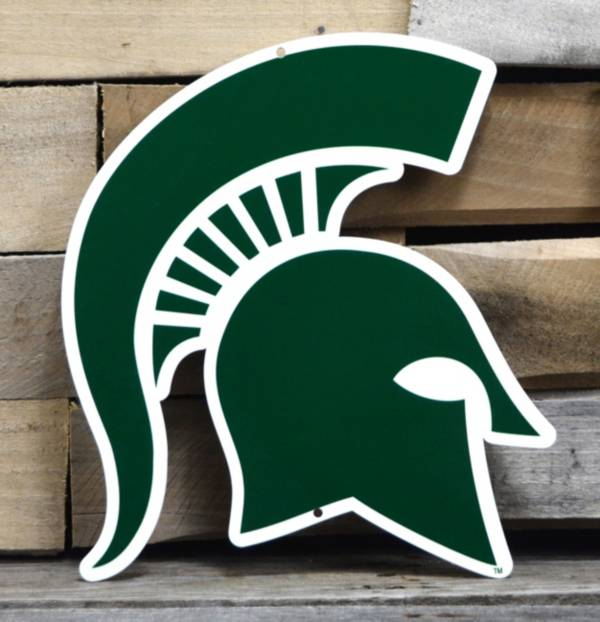 Authentic Street Signs Michigan State Spartans Steel Logo Sign product image