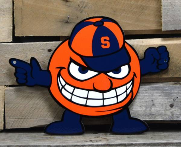 Authentic Street Signs Syracuse Orange Steel Mascot Sign product image