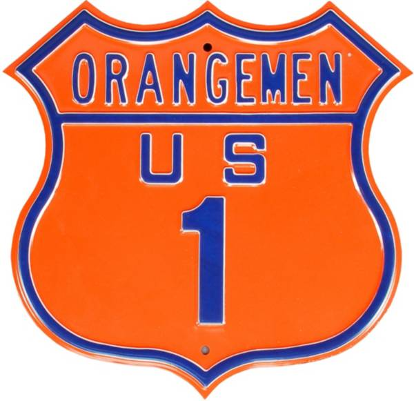 Authentic Street Signs Syracuse Orange Route Sign product image