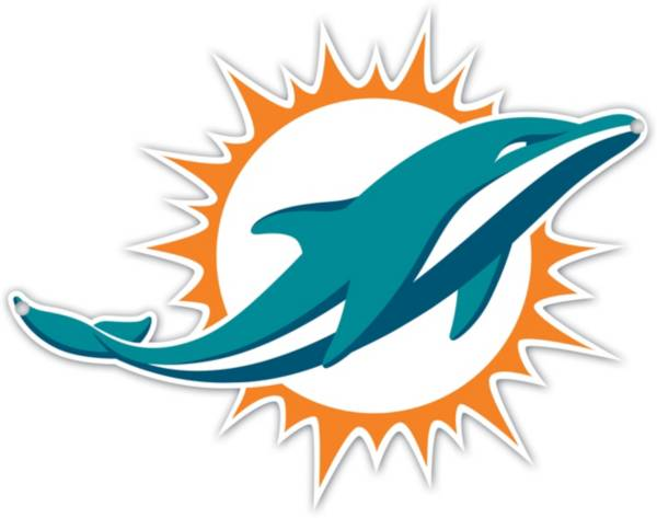 Authentic Street Signs Miami Dolphins Steel Logo Sign product image