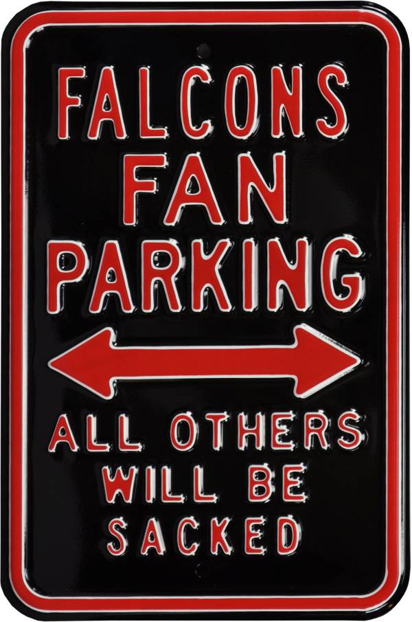 Authentic Street Signs Atlanta Falcons Parking Sign product image