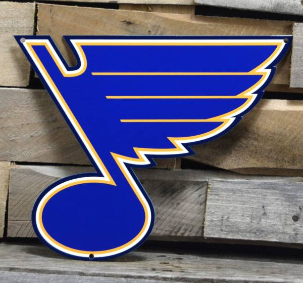 Authentic Street Signs St. Louis Blues Steel Logo Sign product image