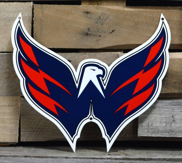Authentic Street Signs Washington Capitals Steel Mascot Sign product image