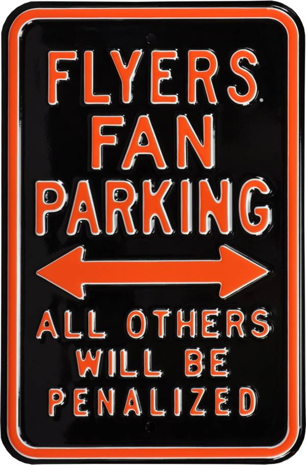 Authentic Street Signs Philadelphia Flyers Parking Sign product image