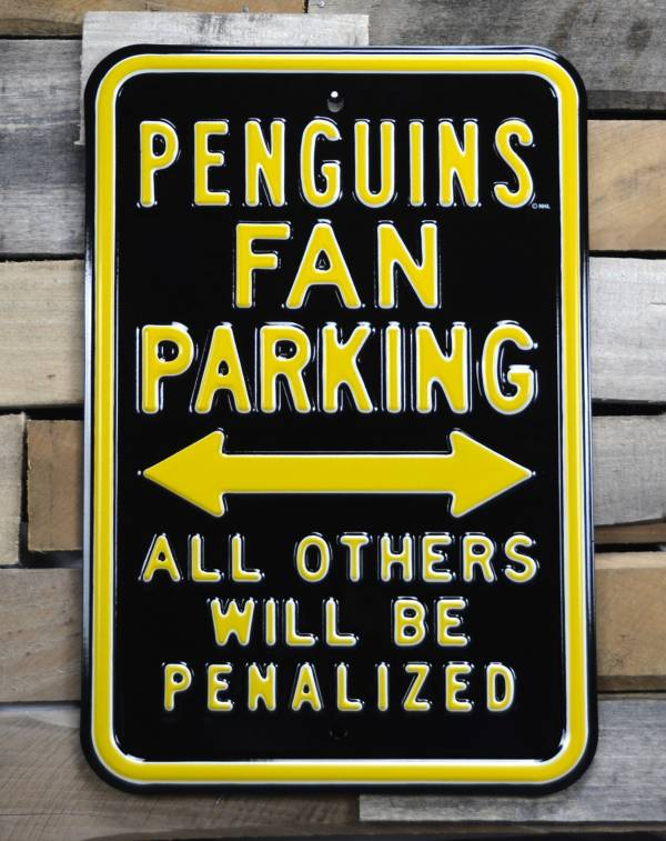 Authentic Street Signs Pittsburgh Penguins Parking Sign product image