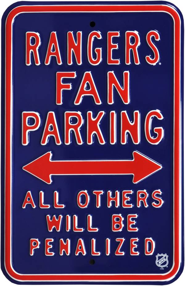 Authentic Street Signs New York Rangers Parking Sign product image