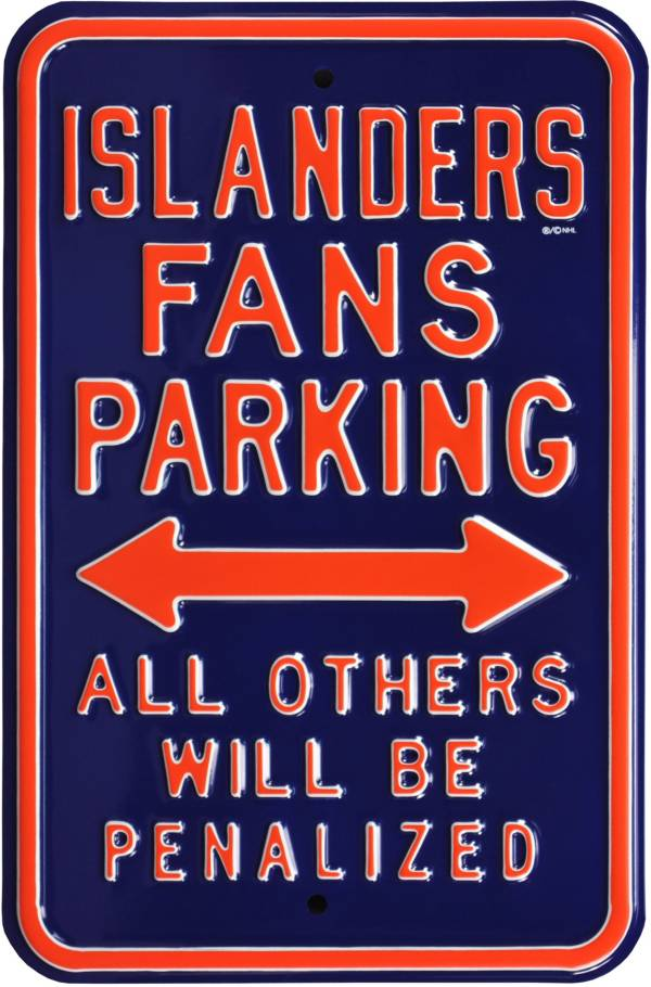 Authentic Street Signs New York Islanders Parking Sign product image