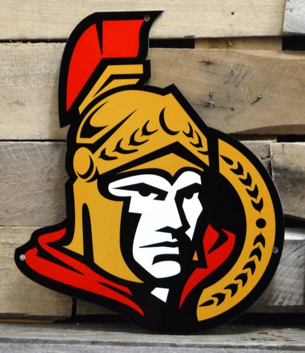 Authentic Street Signs Ottawa Senators Steel Logo Sign product image