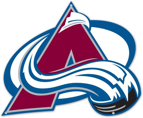 Authentic Street Signs Colorado Avalanche Steel Logo Sign product image