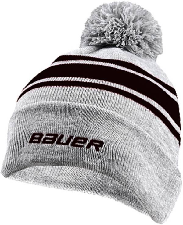 Bauer Senior New Era Team Striped Pom-Pom Beanie product image