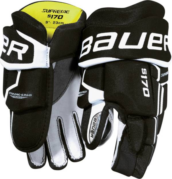 Bauer Youth Supreme S170 Ice Hockey Gloves product image
