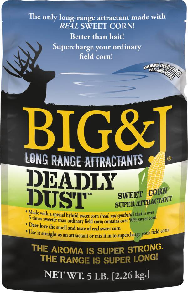 Big & J Deadly Dust Deer Attractant – 5 lbs product image