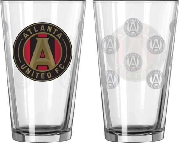 Boelter Atlanta  United 16oz. Satin Etched Pint Glass product image