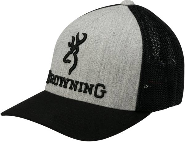 Browning Men's Branded Heather Flexfit Hat product image