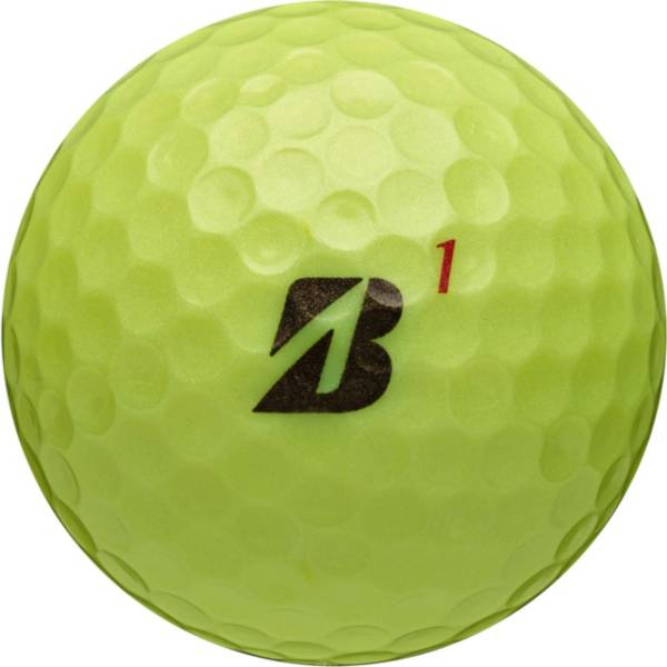 Bridgestone TOUR B RX Optic Yellow Golf Balls product image