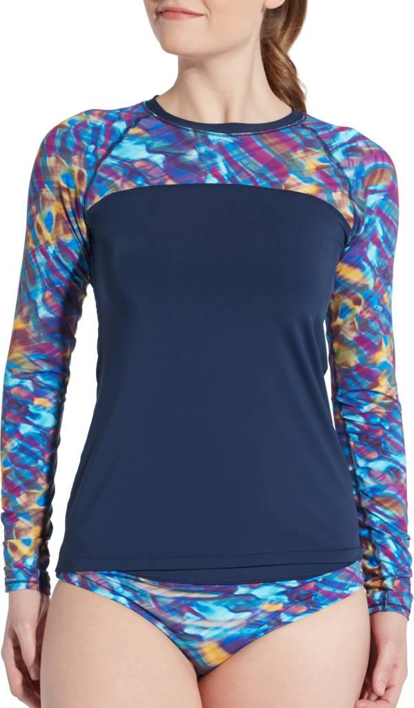 CALIA by Carrie Underwood Women's Printed Long Sleeve Rash Guard product image
