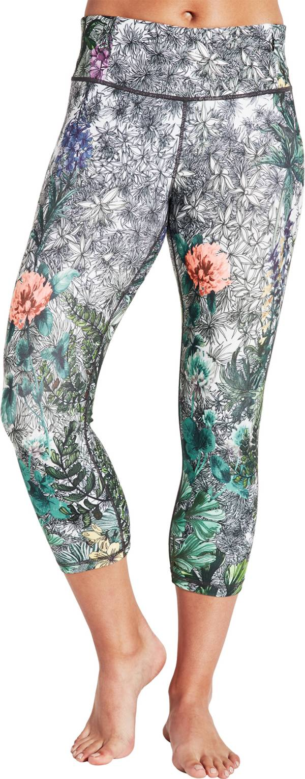CALIA by Carrie Underwood Women's Limited Edition Fleuria Essential Tight Fit Printed Capris product image