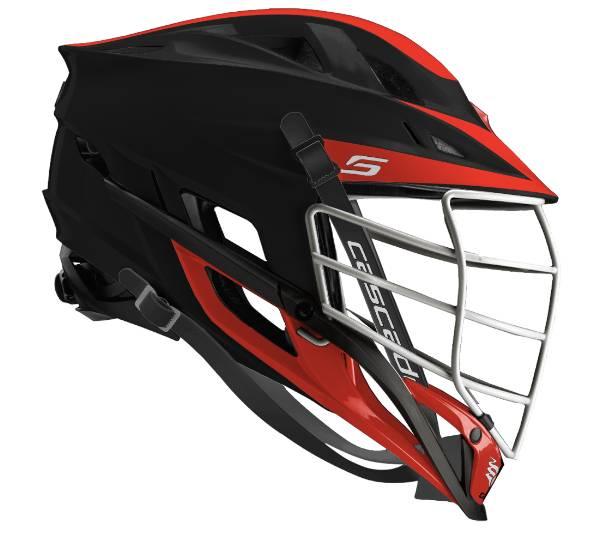 Cascade Custom S Matte Lacrosse Helmet w/ White Pearl Mask product image