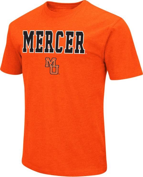 Colosseum Men's Mercer Bears Orange Dual Blend T-Shirt product image