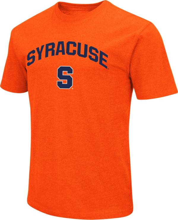 Colosseum Men's Syracuse Orange Dual Blend Orange T-Shirt product image