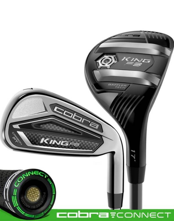 Cobra KING F8 Hybrid/Irons – (Graphite) product image
