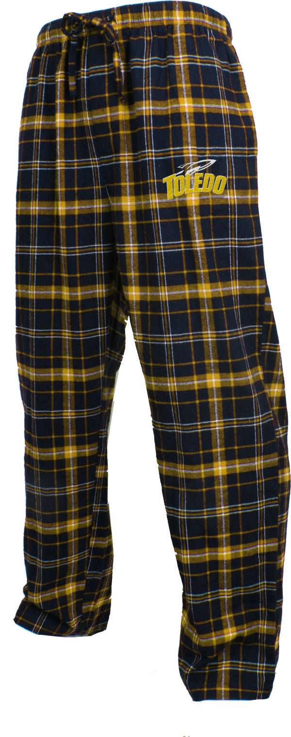 Concepts Sport Men's Toledo Rockets Midnight Blue/Gold Huddle Sleep Pants product image