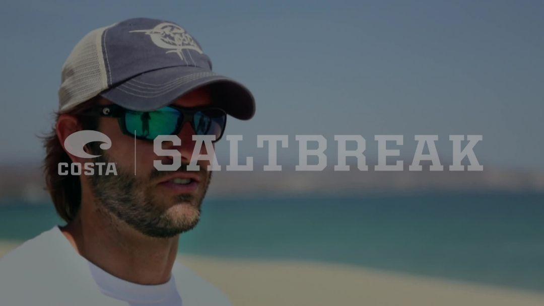 Costa Del Mar Men's Saltbreak 580G Polarized Sunglasses