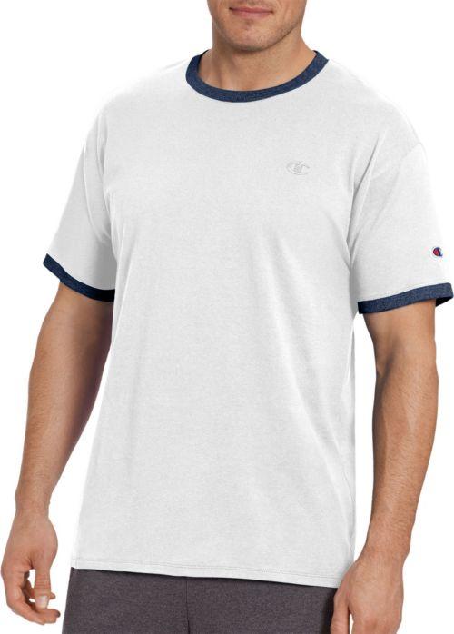 15589736 Champion Men's Classic Jersey Ringer T-Shirt. noImageFound. Previous. 1