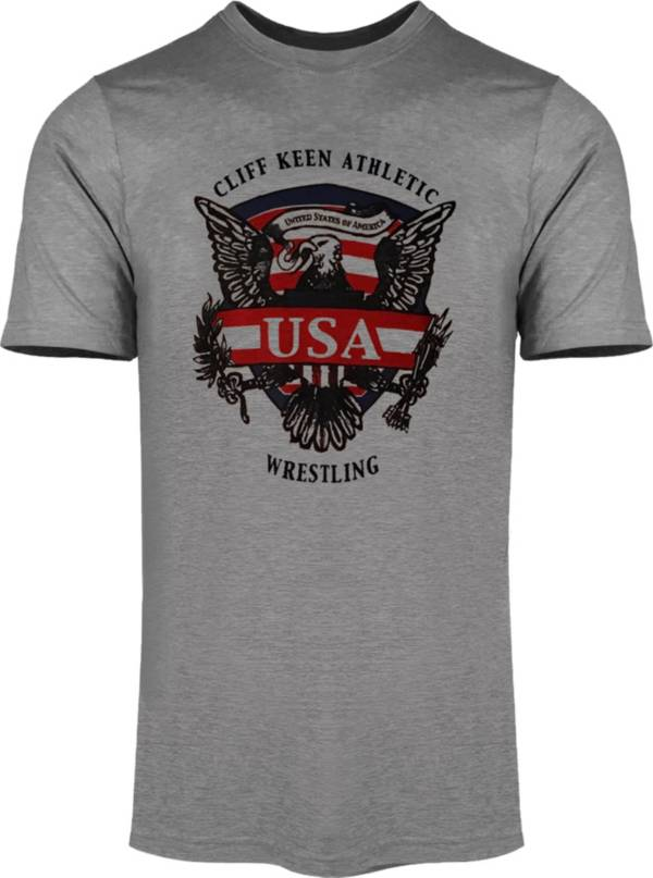 Cliff Keen Adult Historic Eagle Wrestling T-Shirt product image