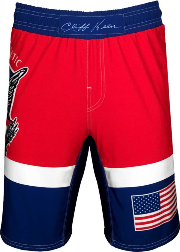 Cliff Keen Adult Historic Eagle Sublimated Wrestling Board Shorts product image
