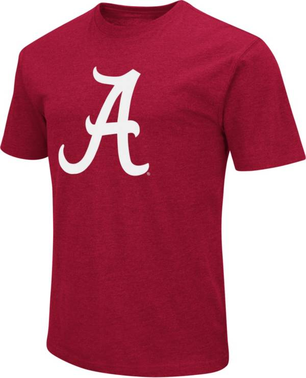 Colosseum Men's Alabama Crimson Tide Crimson Dual Blend T-Shirt product image