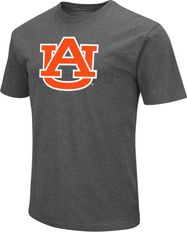 Colosseum Men's Auburn Tigers Grey Dual Blend T-Shirt product image