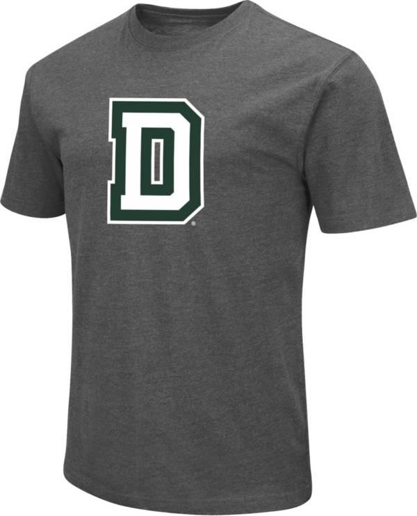 Colosseum Men's Dartmouth Big Green Grey Dual Blend T-Shirt product image