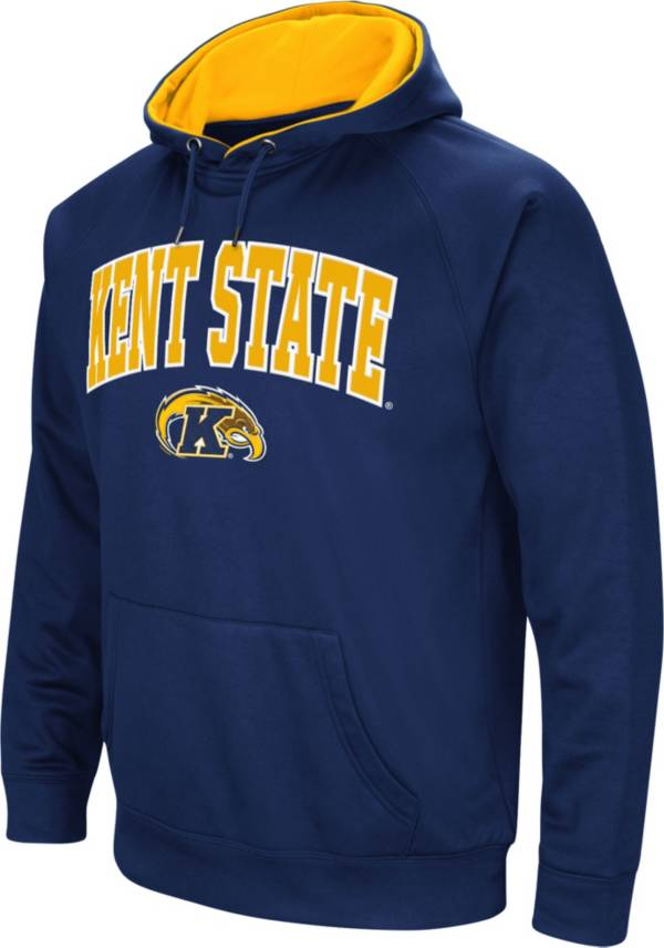 Colosseum Men's Kent State Golden Flashes Navy Blue Fleece Hoodie product image