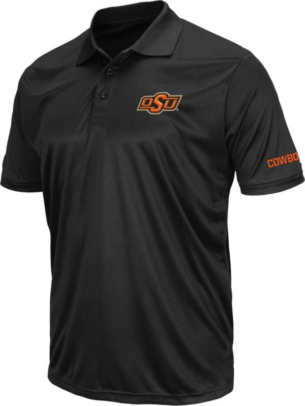 Colosseum Men's Oklahoma State Cowboys Stance Black Polo product image