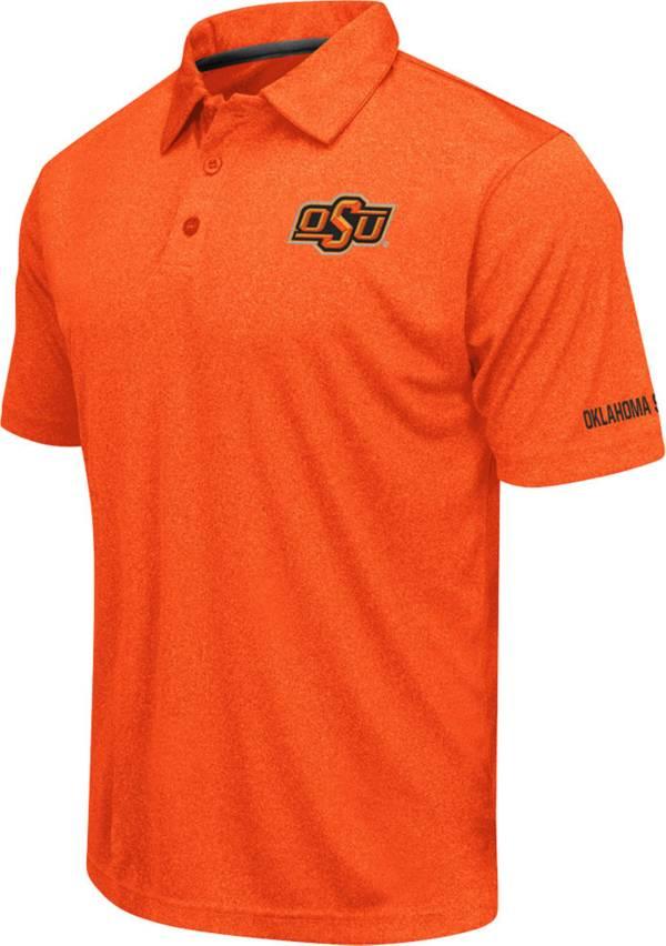 Colosseum Men's Oklahoma State Cowboys Orange Axis Polo product image