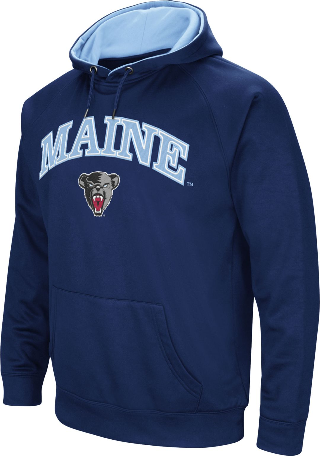 a0e8c736 Colosseum Men's Maine Black Bears Blue Fleece Hoodie. noImageFound. 1