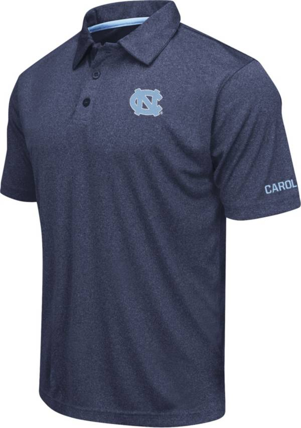 Colosseum Men's North Carolina Tar Heels Navy Axis Polo product image