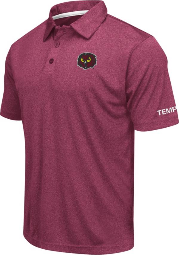Colosseum Men's Temple Owls Cherry Axis Polo product image