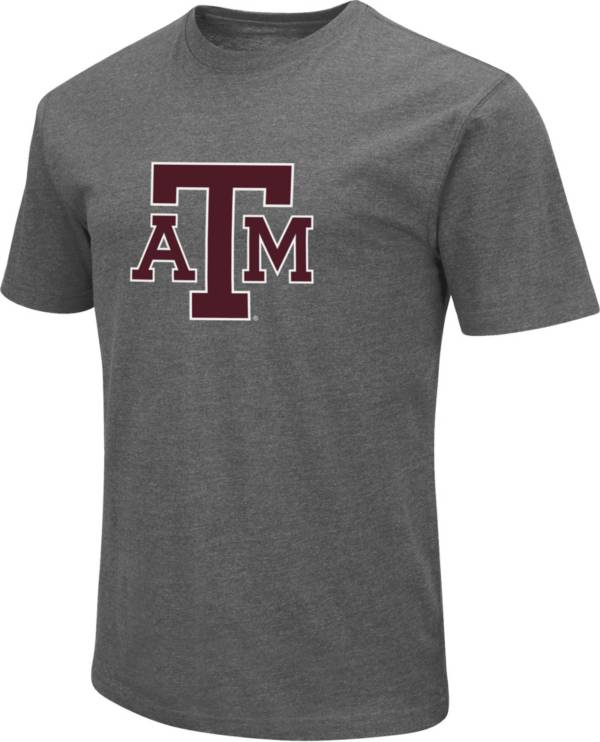 Colosseum Men's Texas A&M Aggies Grey Dual Blend T-Shirt product image