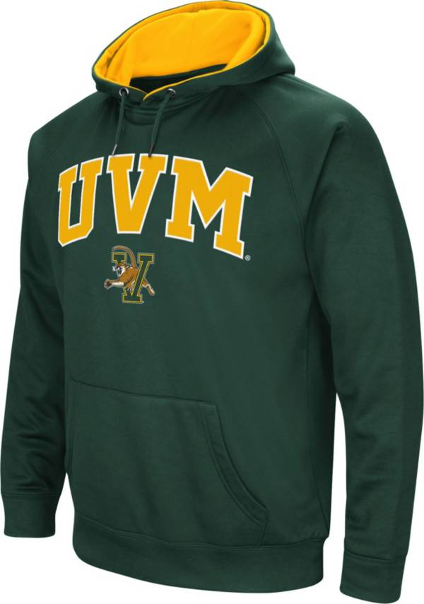 Colosseum Men's Vermont Catamounts Green Fleece Hoodie product image