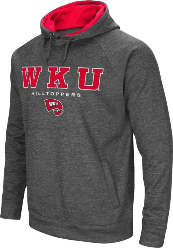 Colosseum Men's Western Kentucky Hilltoppers Grey Fleece Hoodie product image