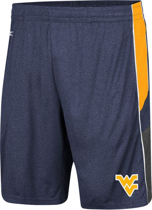 Colosseum Men s West Virginia Mountaineers Blue Triple A Shorts ... 1cf78420a
