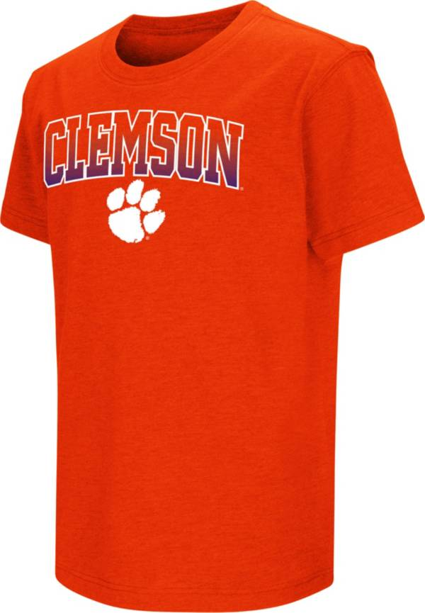 Colosseum Youth Clemson Tigers Orange Dual Blend T-Shirt product image