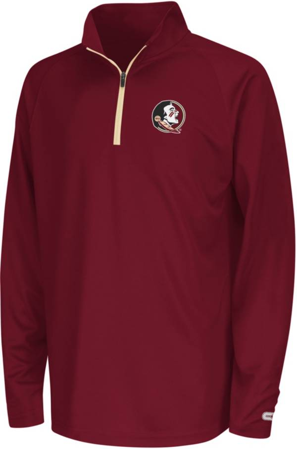 Colosseum Youth Florida State Seminoles Draft Performance Quarter-Zip product image