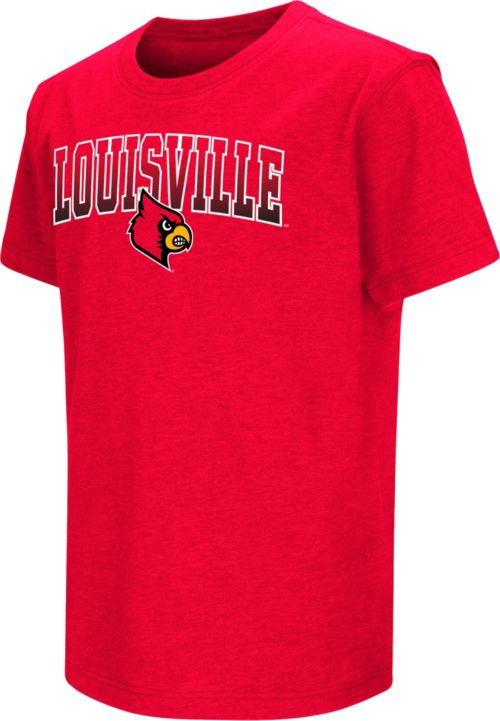newest 8eb7d f93f5 Colosseum Youth Louisville Cardinals Cardinal Red Dual Blend T-Shirt ...