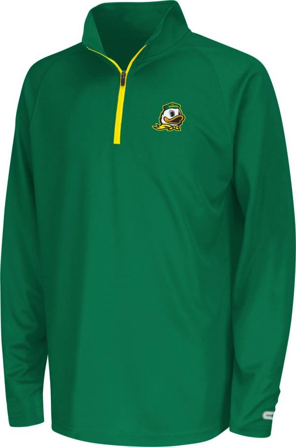 Colosseum Youth Oregon Ducks Draft Performance Quarter-Zip product image