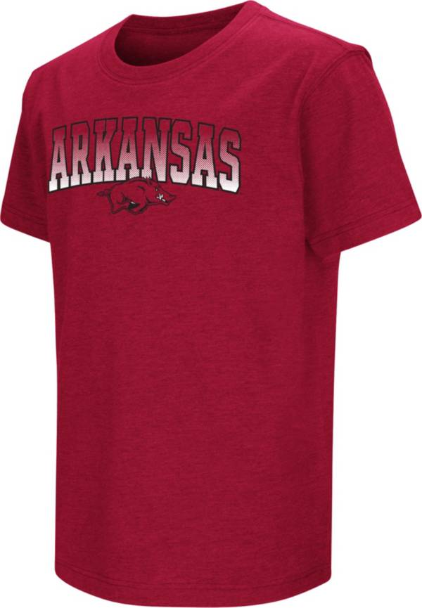 Colosseum Youth Arkansas Razorbacks Cardinal Dual Blend T-Shirt product image