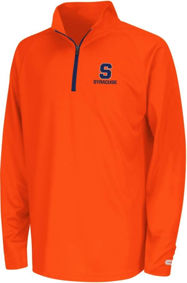 Colosseum Youth Syracuse Orange Orange Draft Performance Quarter-Zip product image