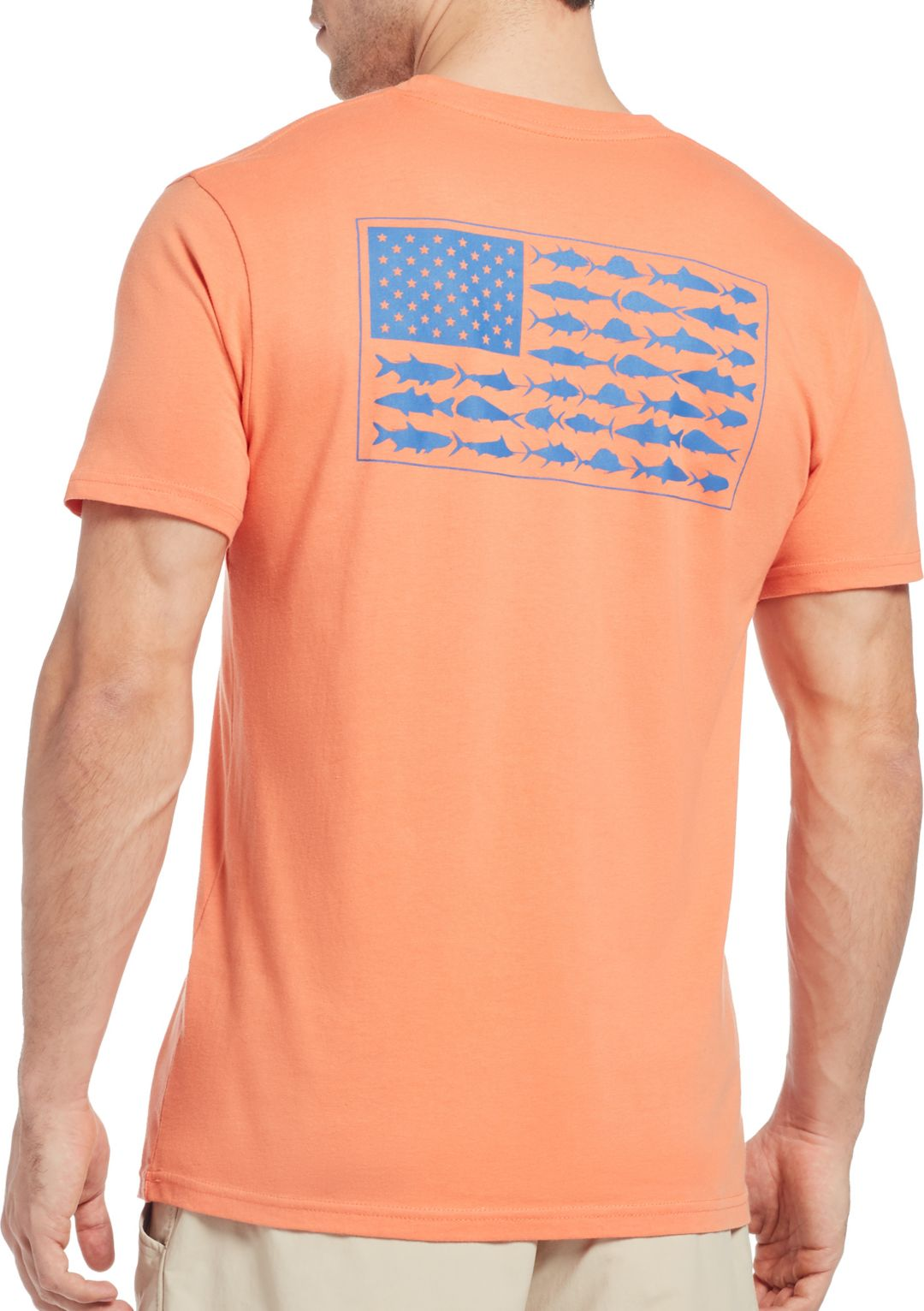 b97f01aeae Columbia PFG Americana Saltwater Fish Flag T-Shirt | DICK'S Sporting ...